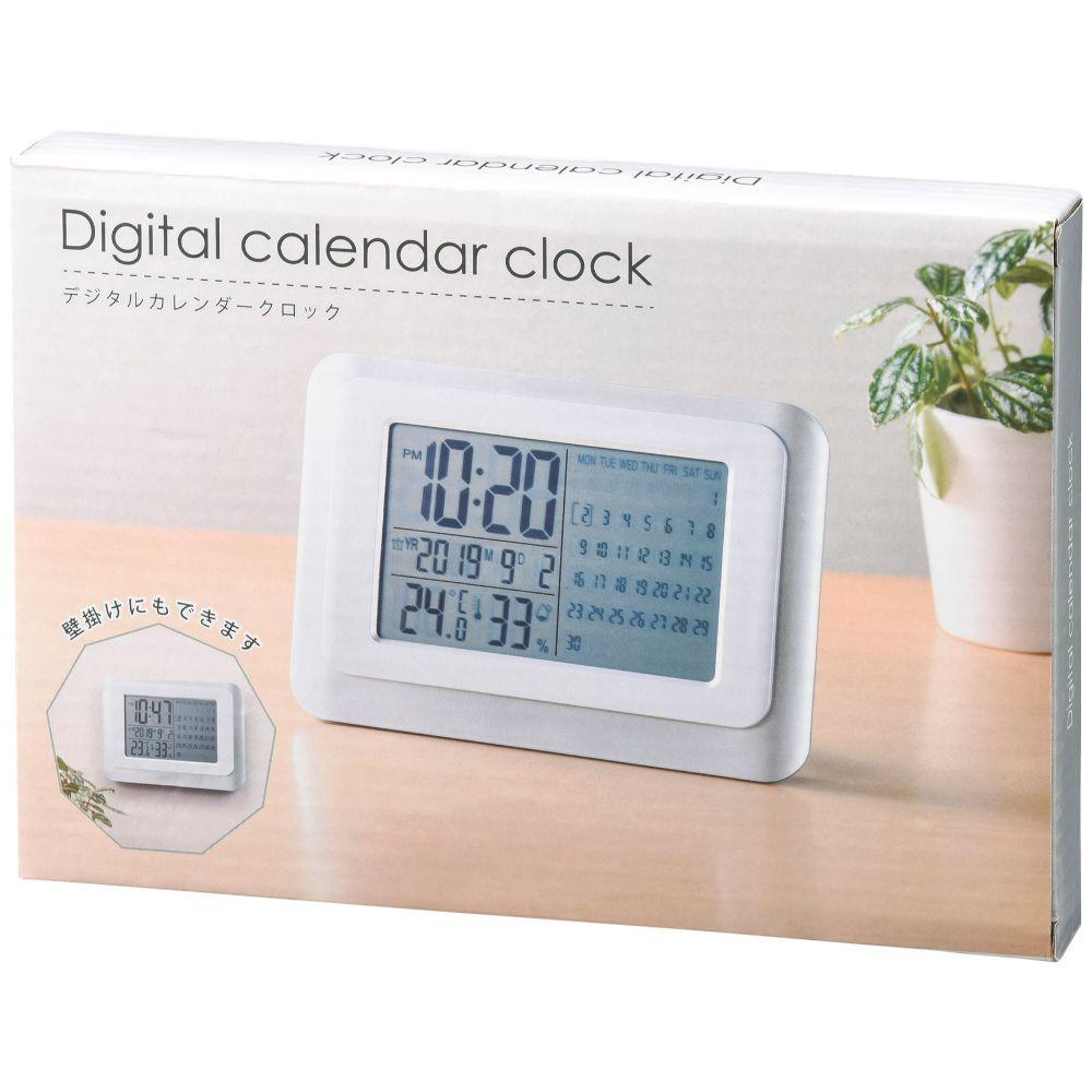 デジタルカレンダークロックイメージ