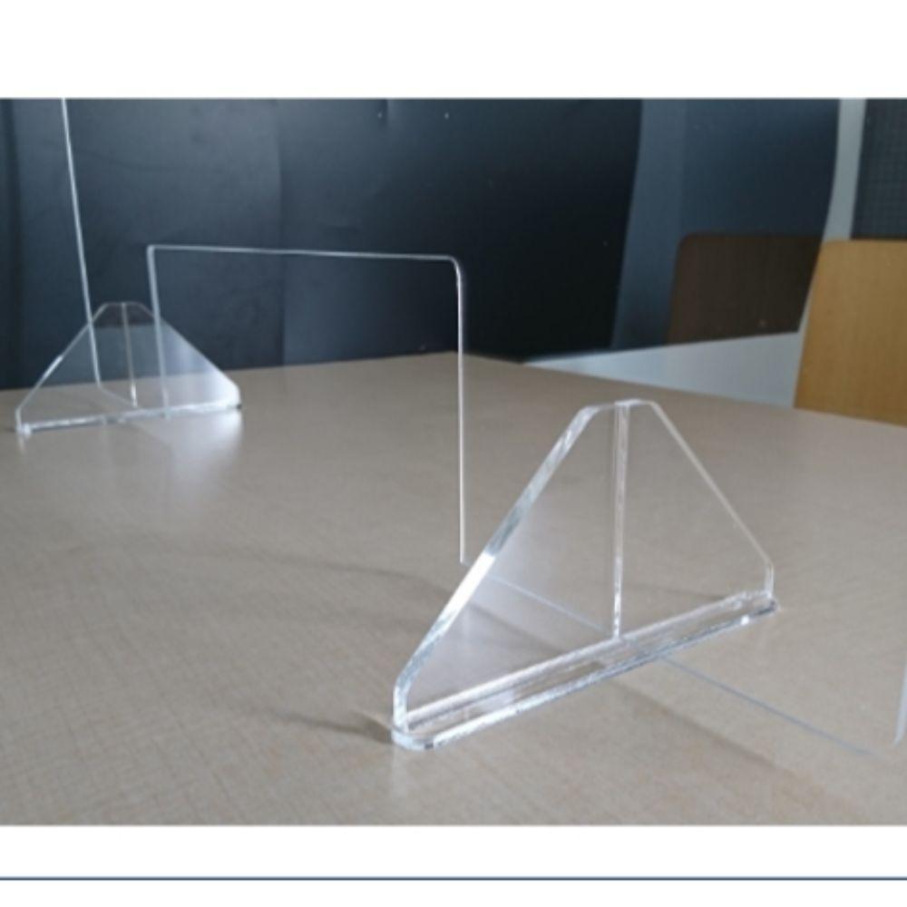 飛沫感染防止アクリルパネル 小 W600×H600mmのイメージ4